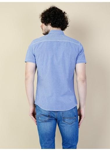 Colin's Kısa Kollu Gömlek Mavi